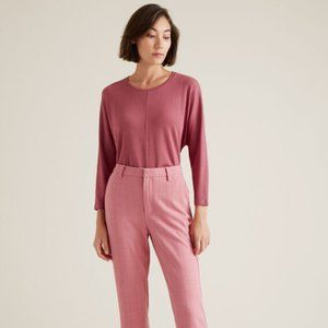 Seed Heritage Pink Waffle Top T-Shirt Size XXS
